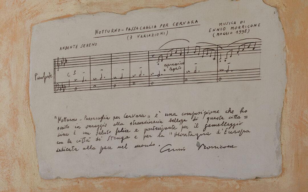 Ennio Morricone e la Passacaglia per Cervara
