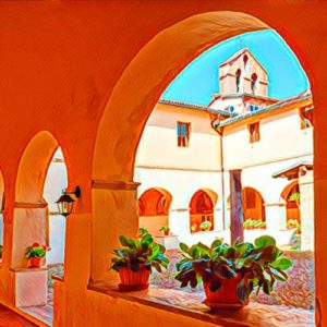 convento di san francesco subiaco