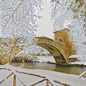 ponte di san francesco subiaco
