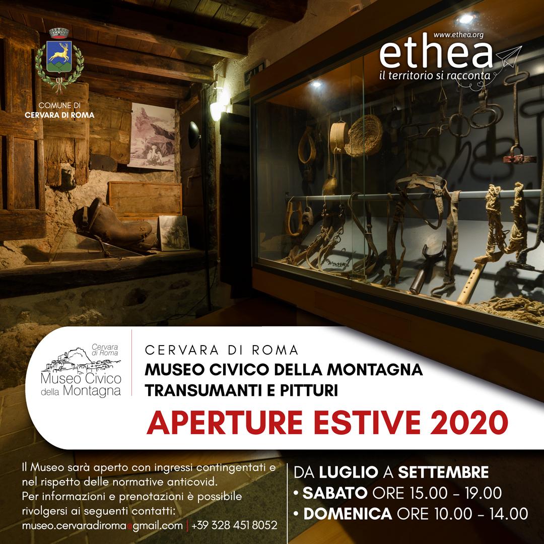 aperture museo cervara 2020