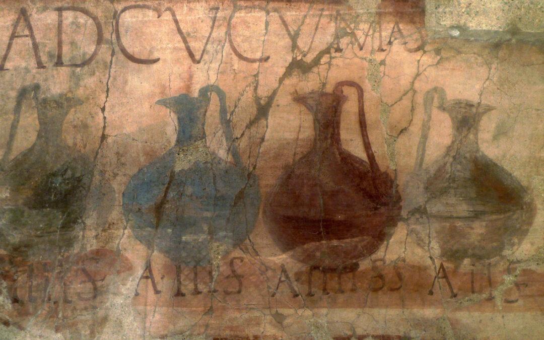 PerBacco se brindavano nell'antica Roma!